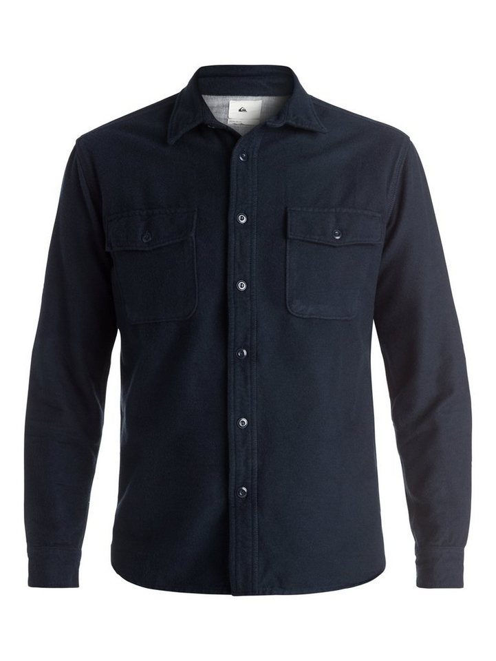 Quiksilver Langarm-Hemd »The Flannel« in navy blazer