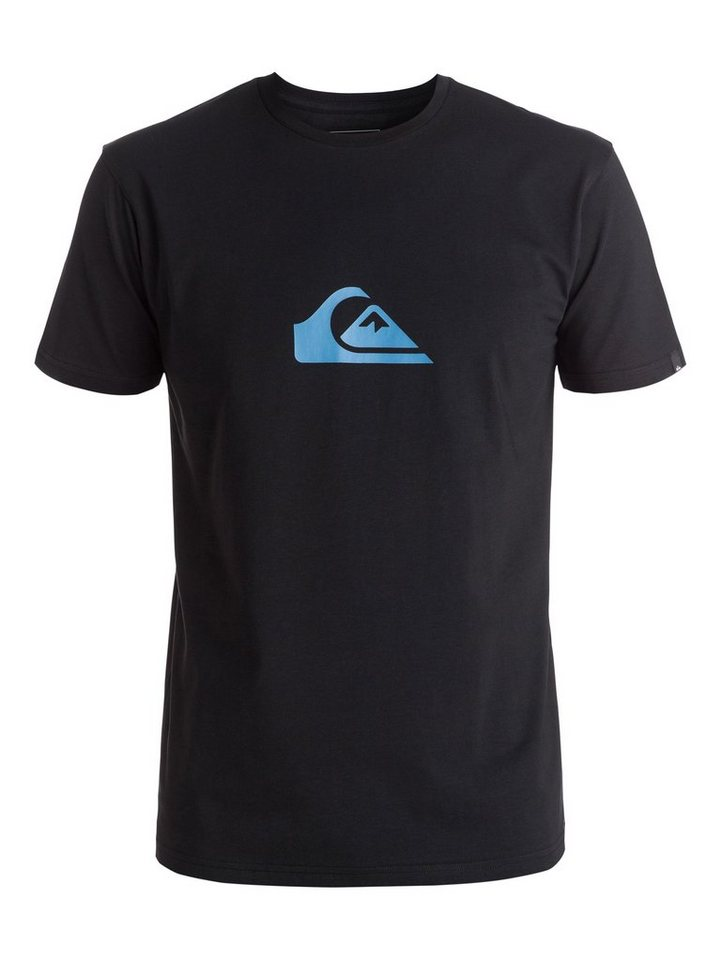 Quiksilver T-Shirt »Classic Everyday Mountain & Wave« in Anthracite