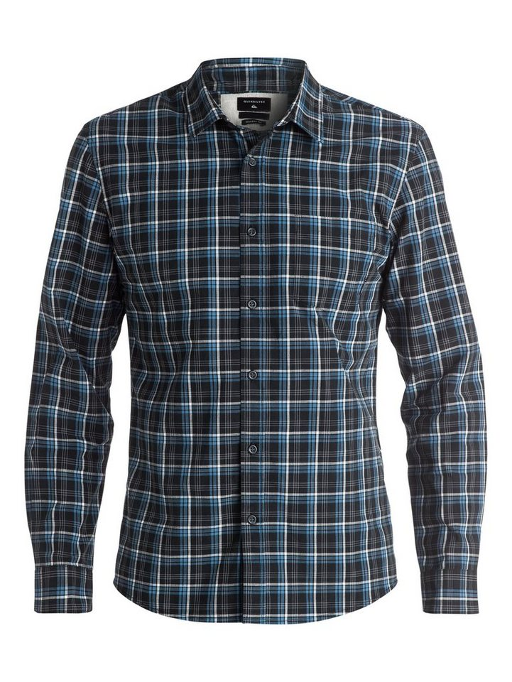 Quiksilver Langarm-Hemd »Everyday Check« in anthracite