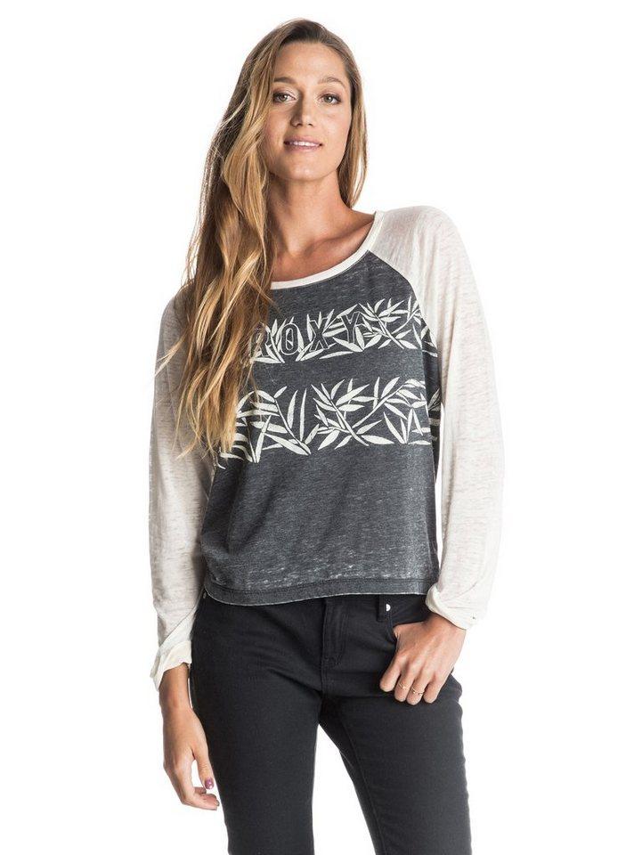 Roxy T-Shirt mit 3/4 Ärmeln »Tube Riding Bamboo Stripe« in Anthracite