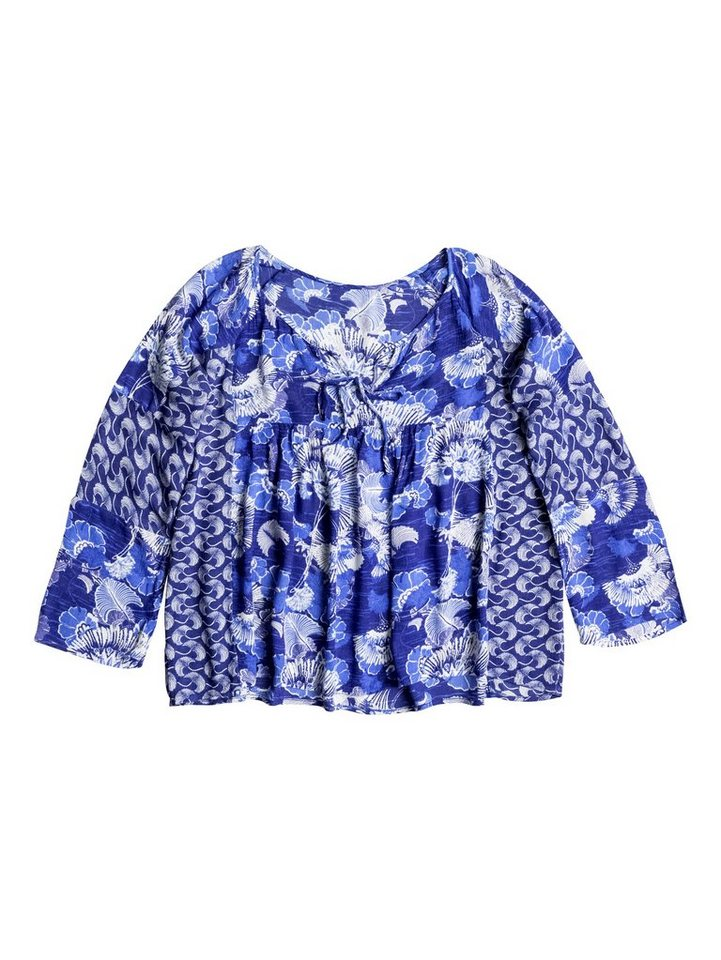 Roxy Longsleeve »Fade Into You« in Blue print