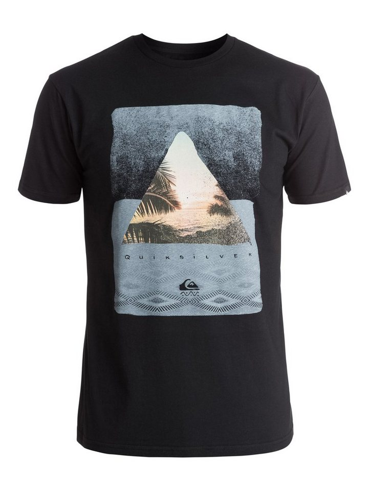 Quiksilver T-Shirt »Classic Sintra Beach« in Anthracite