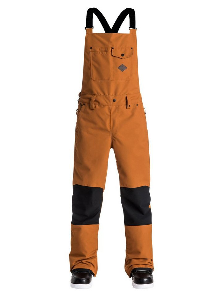 Quiksilver Snow-Latzhose »Found« in Pumpkin spice