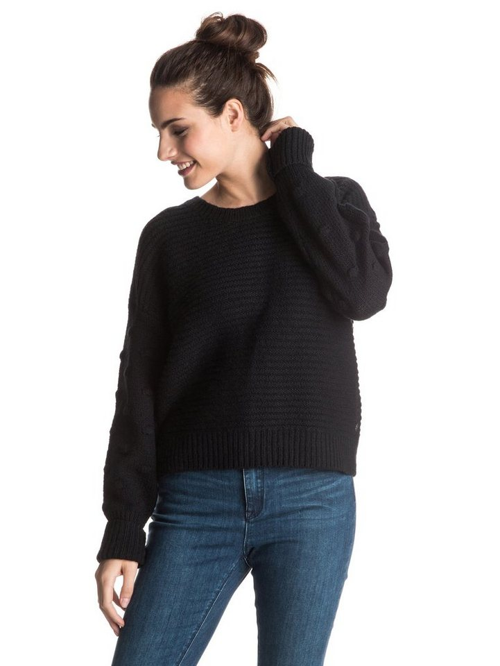 Roxy Sweater »Rest Ashore« in Anthracite