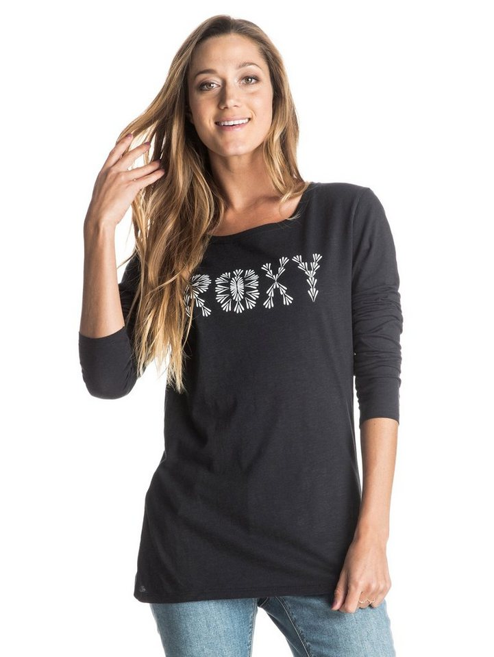 Roxy Longsleeve »Tonik High Tides« in anthracite