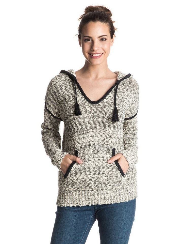 Roxy Kapuzen-Sweater »Dances With Waves« in Anthracite
