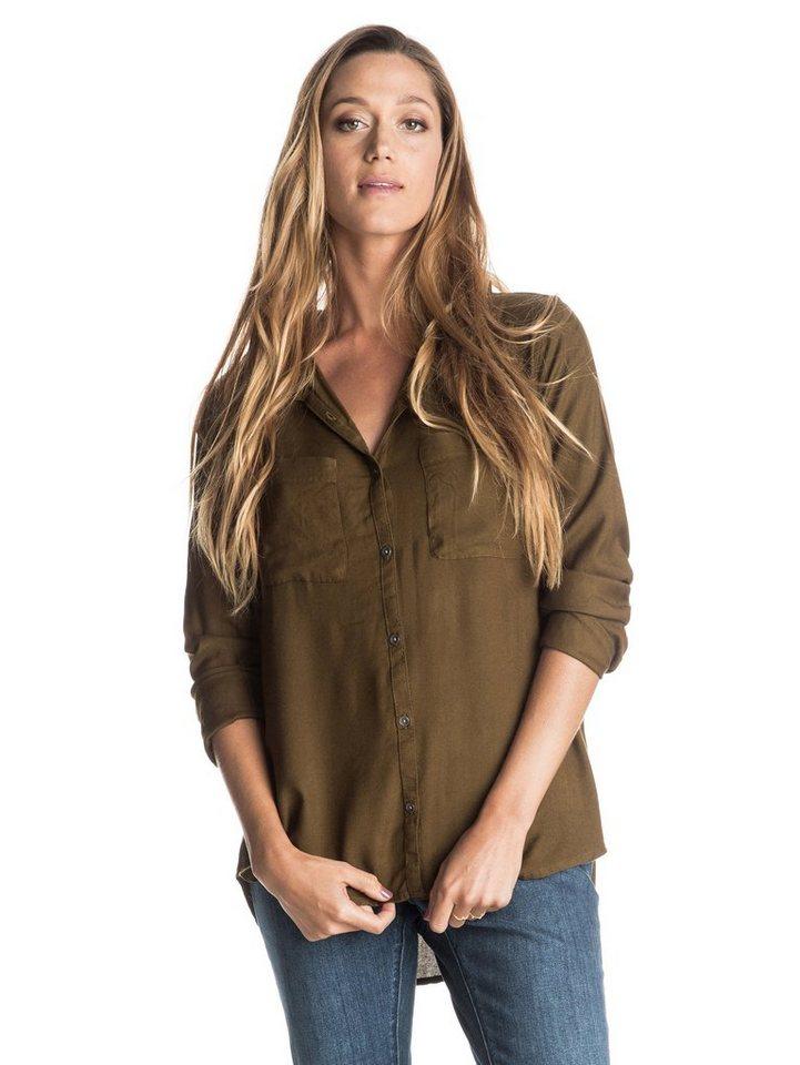 Roxy Langarm-Hemd »Away We Go« in Military olive
