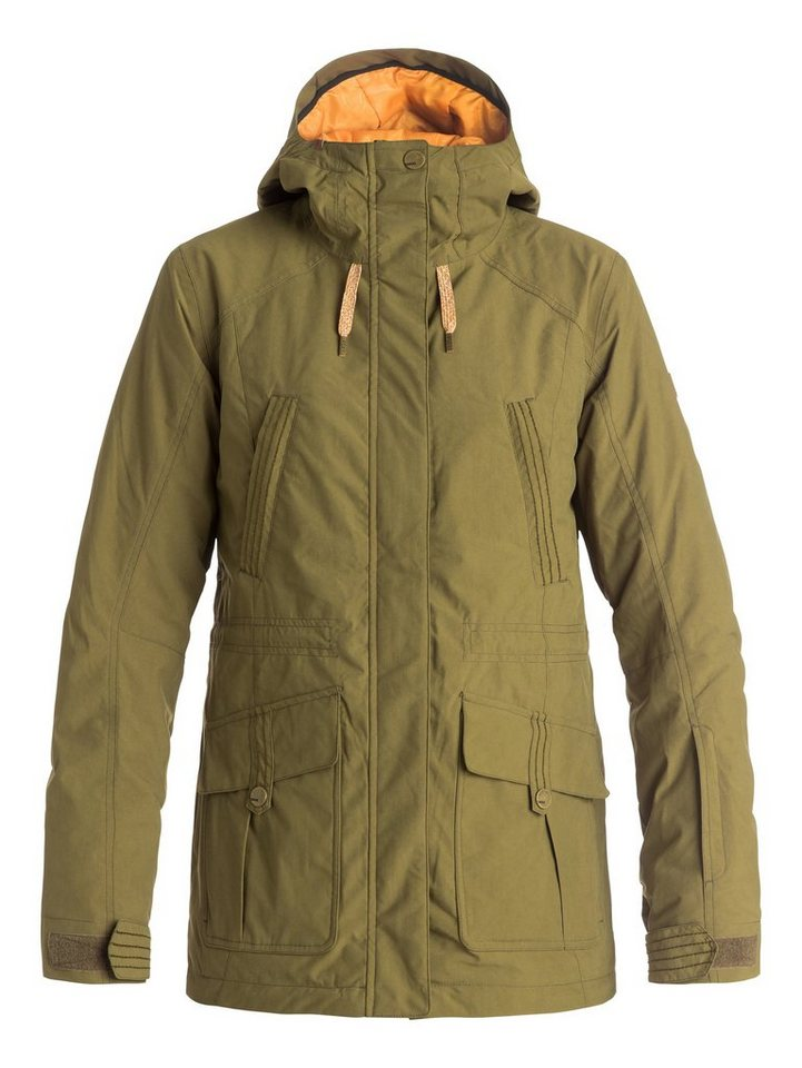 Roxy Snow Jacke »Tribe« in Military olive
