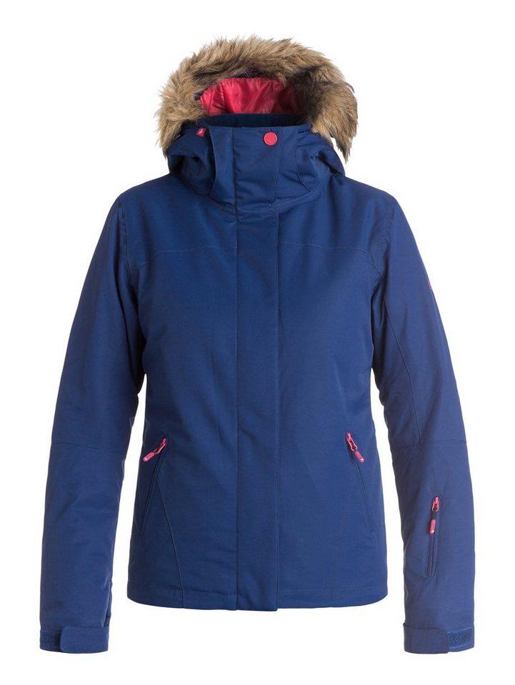 Roxy Snow Jacke »Jet Ski Solid« in Blue print
