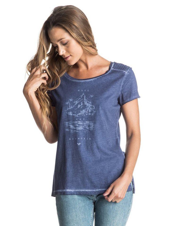 Roxy T-Shirt »Kanazawa True Legend« in Blue print
