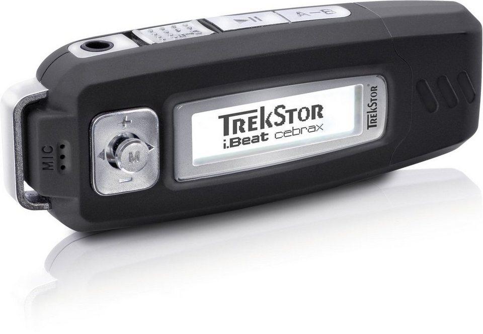 TrekStor mp3-Player »i.Beat cebrax« in Schwarz