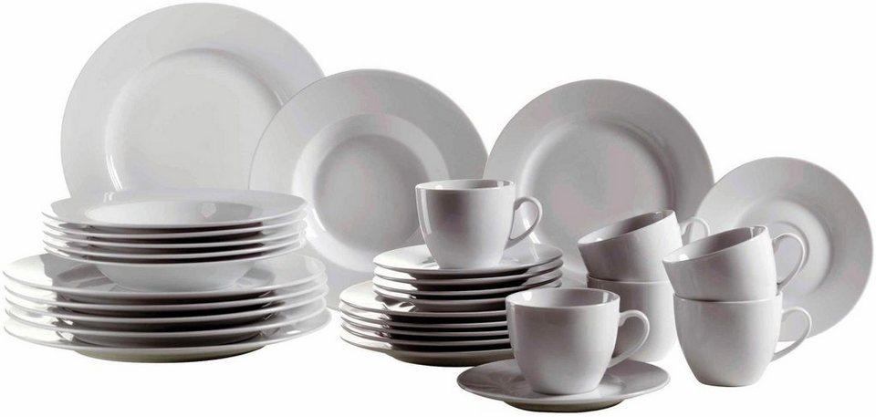 Domestic Porzellan-Serie, »Modesta« in weiß