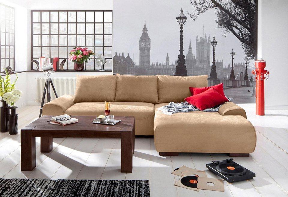 home affaire polsterecke allegro wahlweise mit bettfunktion online kaufen otto. Black Bedroom Furniture Sets. Home Design Ideas