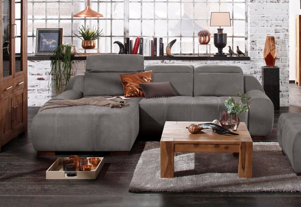 Ecksofa luxus  Premium collection by Home affaire Ecksofa »Spirit«, mit Recamiere ...