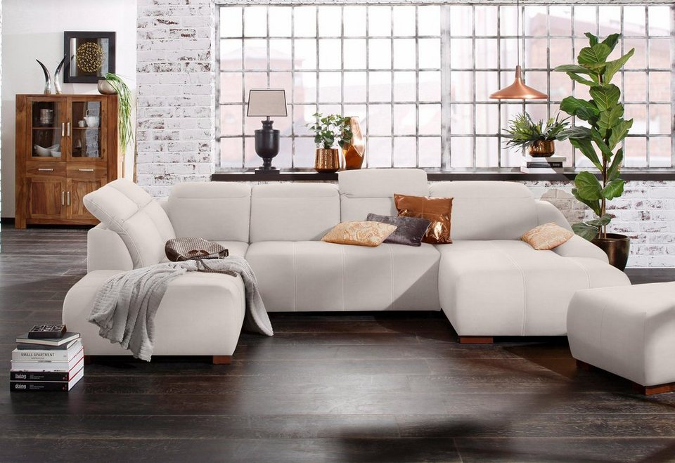 premium collection by home affaire wohnlandschaft spirit wahlweise mit bettfunktion online. Black Bedroom Furniture Sets. Home Design Ideas