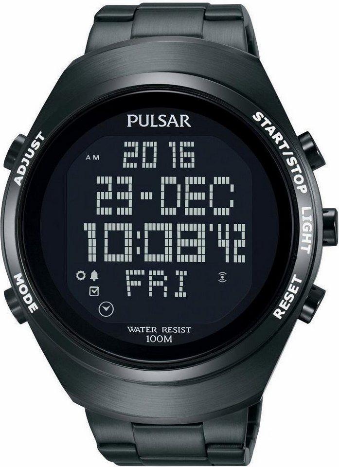 Pulsar Chronograph »PQ2057X1« Aus dem Hause Seiko in schwarz