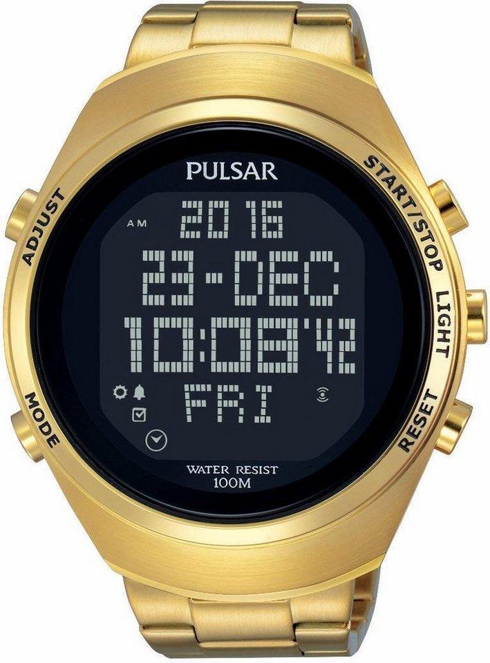 Pulsar Chronograph »PQ2056X1« Aus dem Hause Seiko in goldfarben