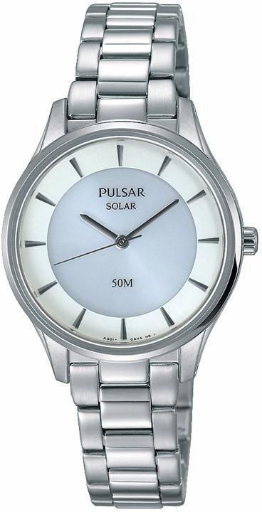 Pulsar Solaruhr »PY5017X1« Aus dem Hause Seiko in silberfarben