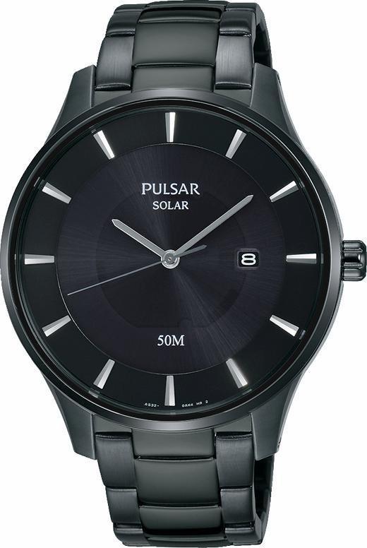 Pulsar Solaruhr »PX3103X1« Aus dem Hause Seiko in schwarz