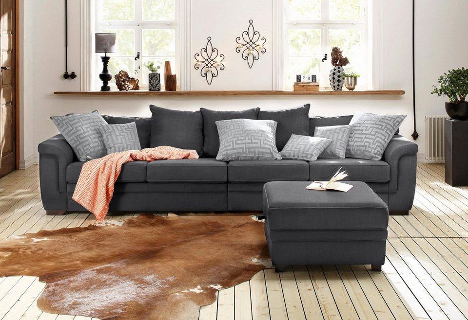 Home affaire Big-Sofa »Sierra« in grau
