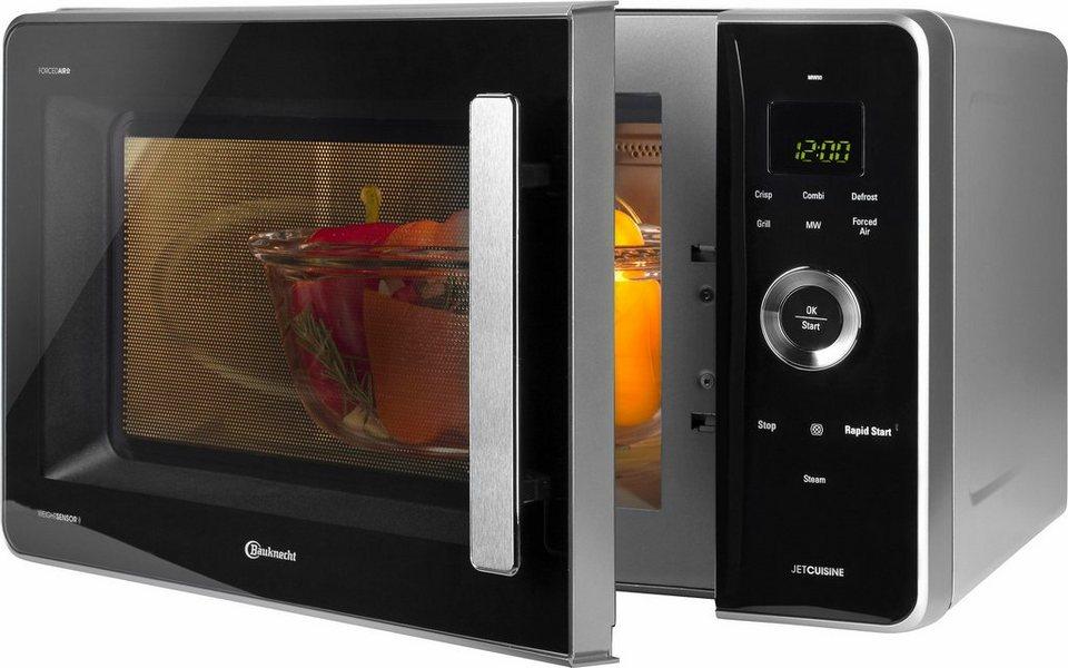 Bauknecht Mikrowelle Mw 80 Sl 1000 W Mit Grill Und Heissluft Online