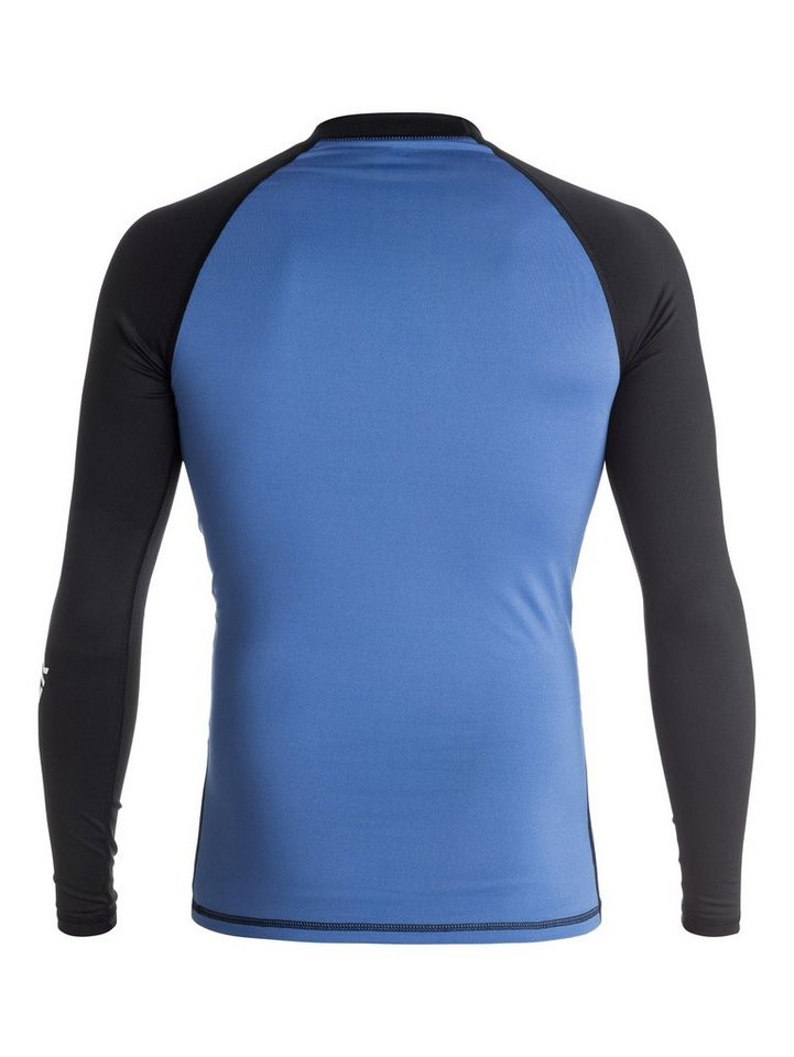 Quiksilver Rash Vest »All Time« in Blue/black/black
