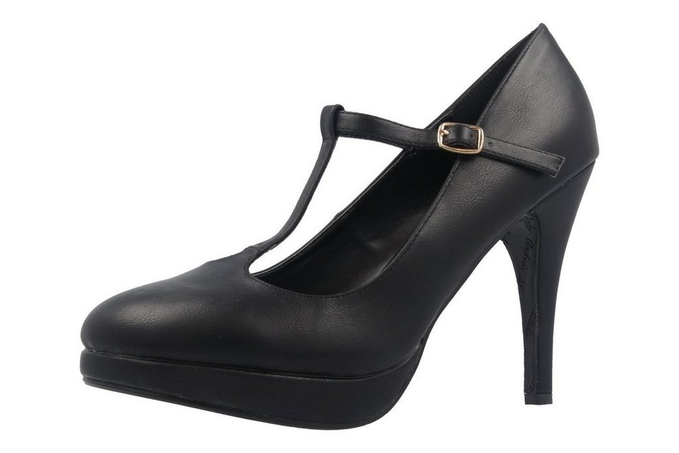 Andres Machado Pumps in Schwarz