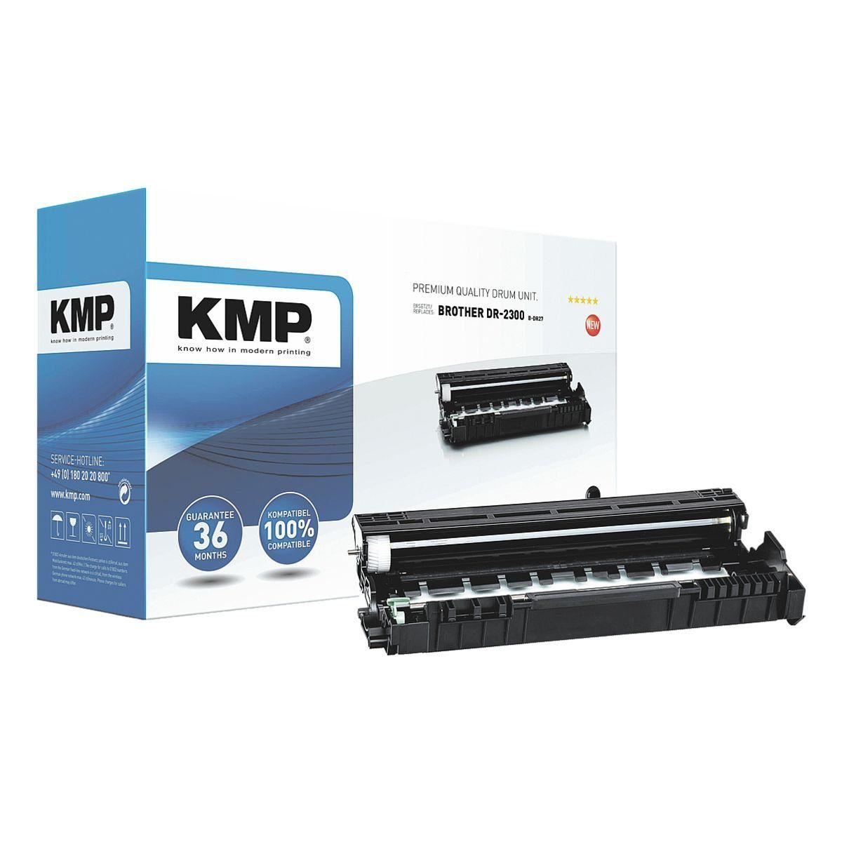 KMP Trommel (ohne Toner) ersetzt Brother »DR-2300«