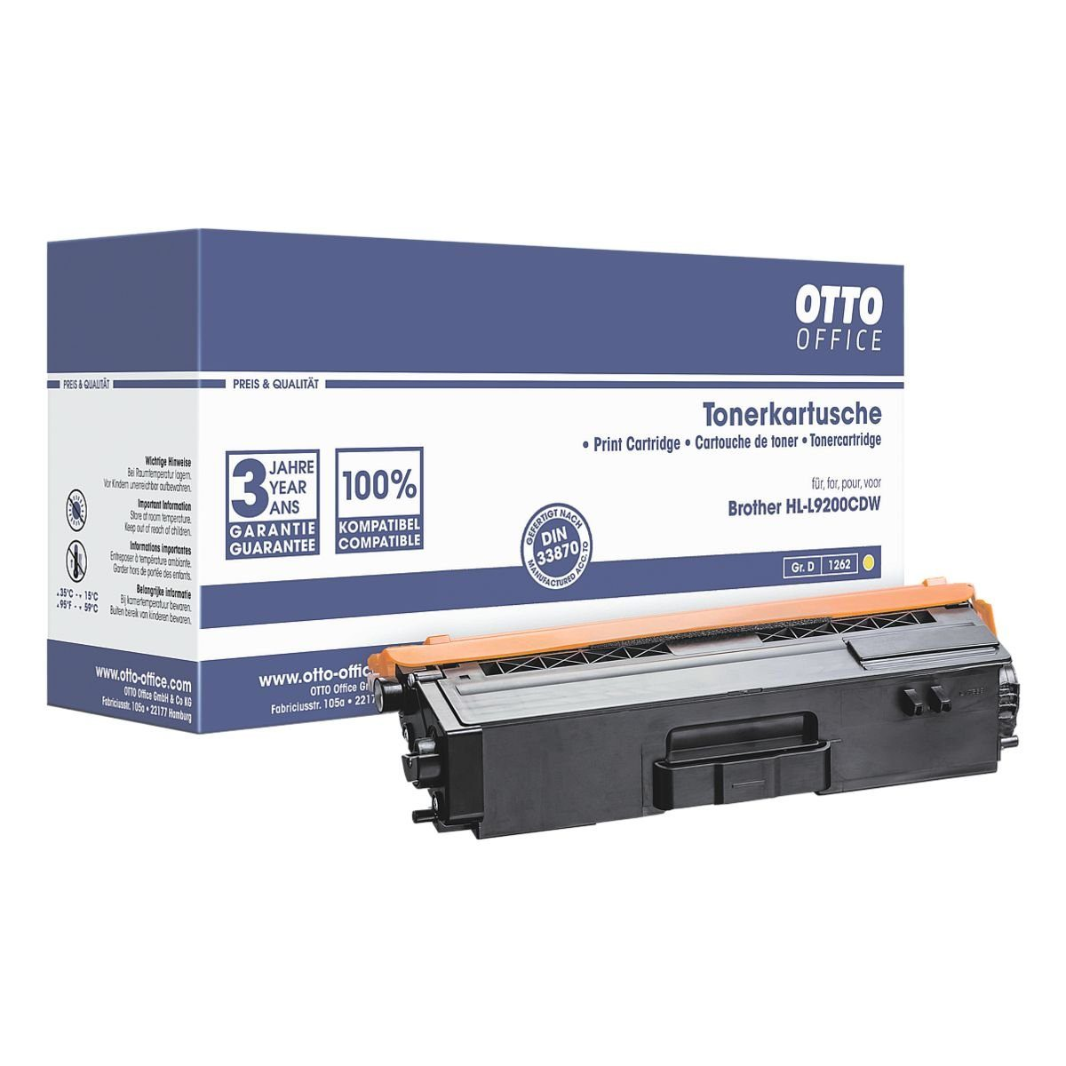 OTTO Office Toner ersetzt Brother »TN900Y«
