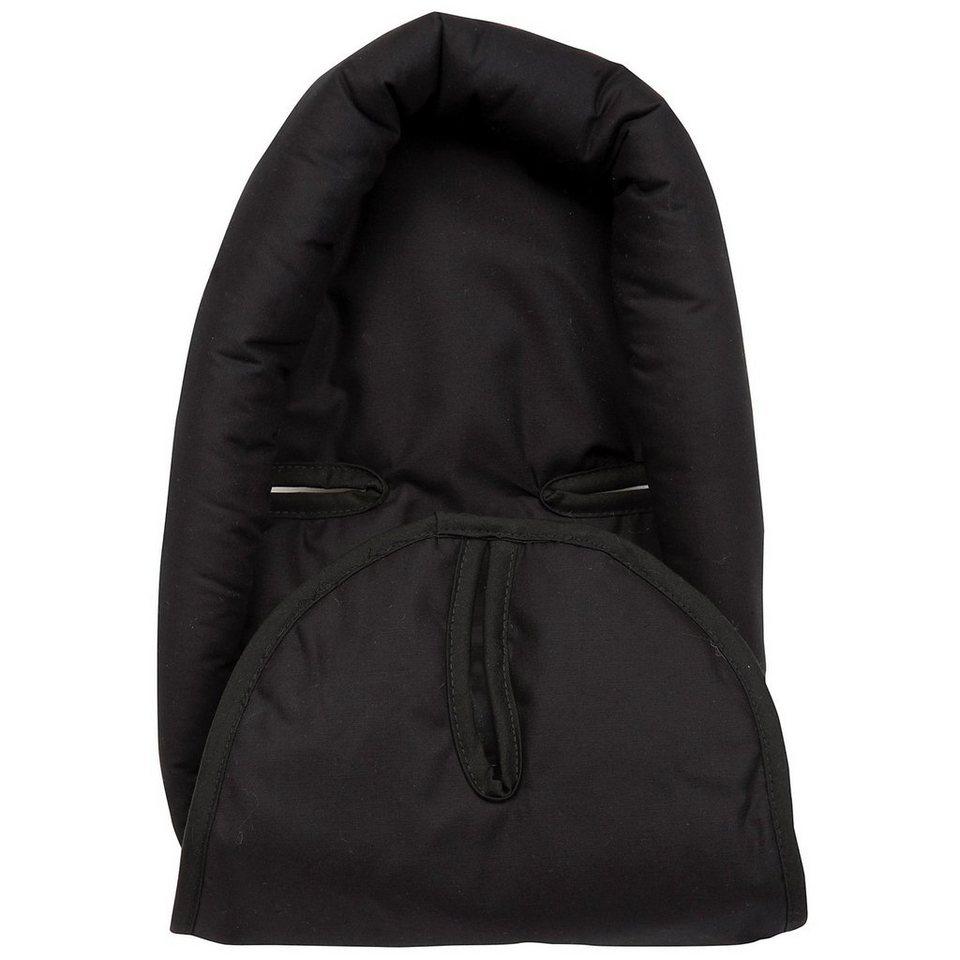 Alvi Sitzverkleinerer für Babyschale, schwarz in schwarz