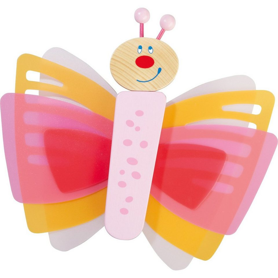 Haba 7481 LED Wandlampe Traum-Schmetterling in pink