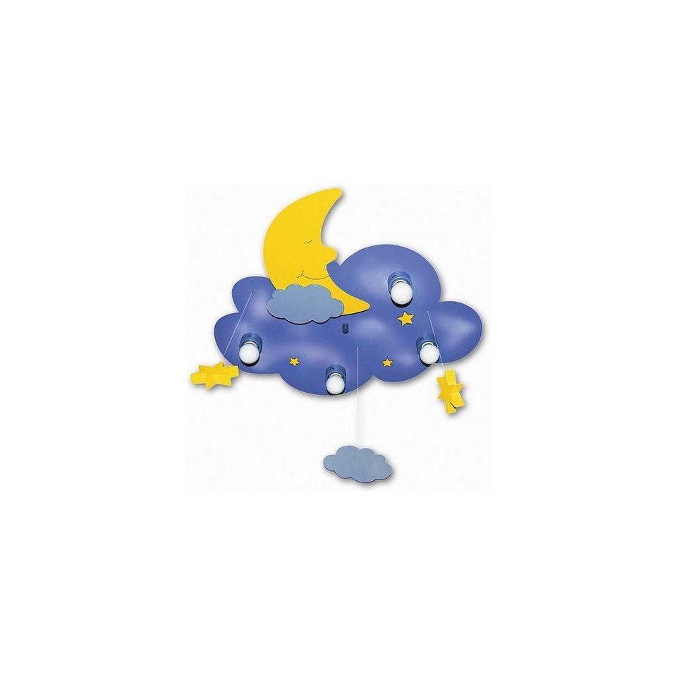 Deckenlampe Traumwolke in blau