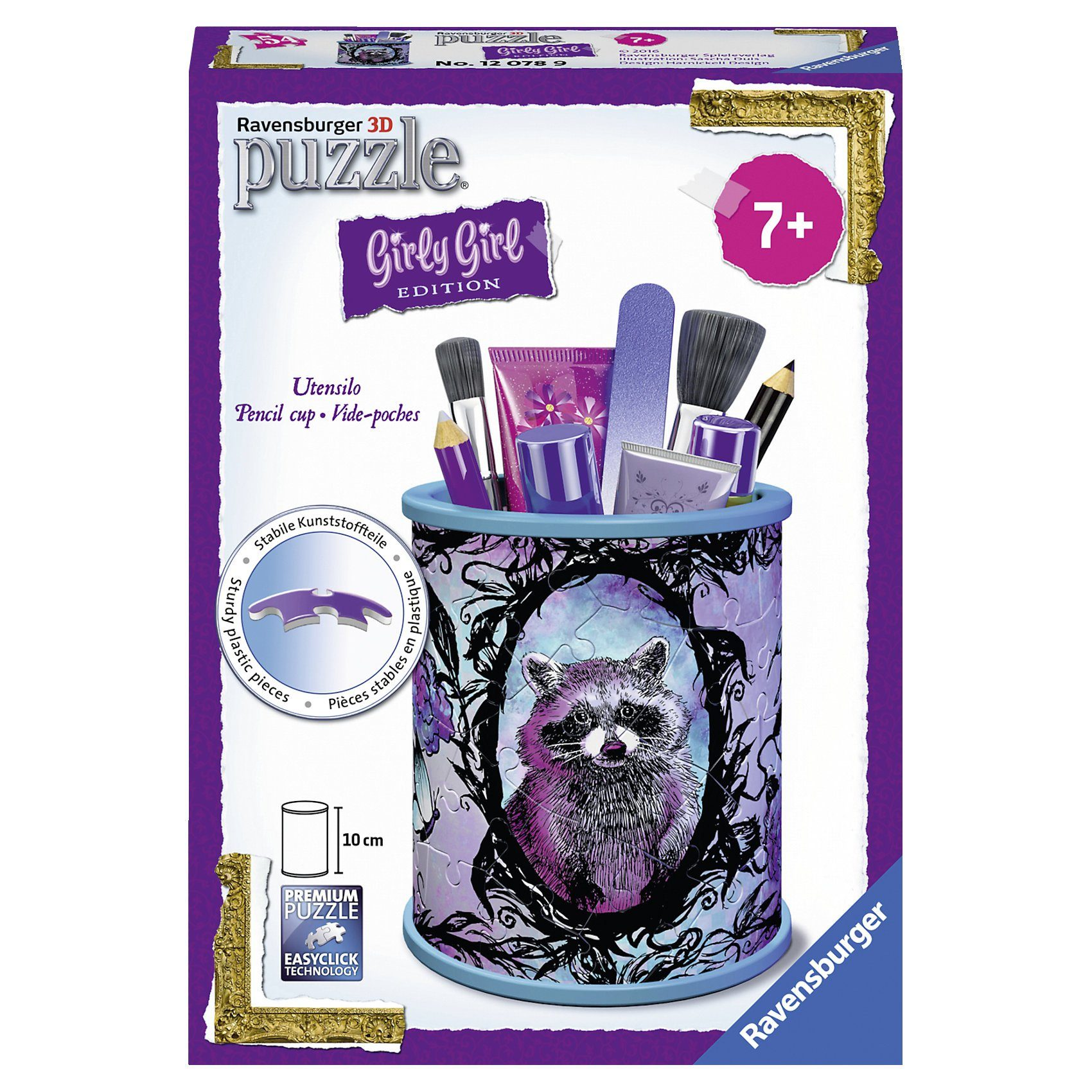 Ravensburger Girly Girl Edition - Utensilo Animal Trend