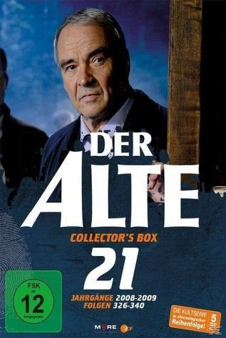 DVD »Der Alte - Collector's Box Vol. 21 (Folgen...«