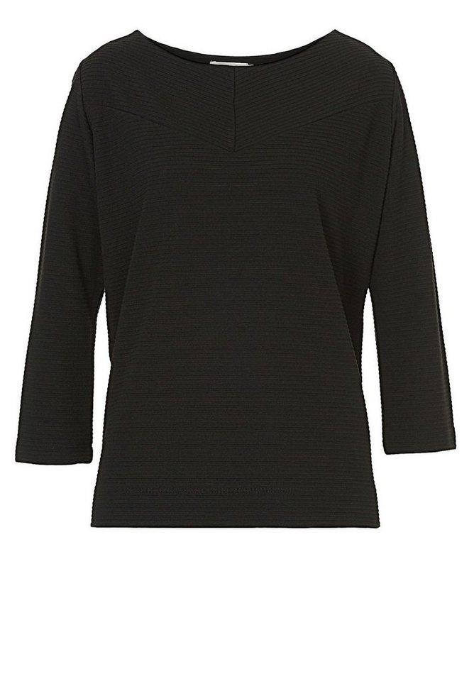 Betty&Co Sweatshirt in Schwarz - Schwarz