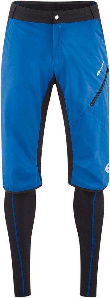 Gonso Radhose »Duma V2 Active Doppelhose Herren« in blau