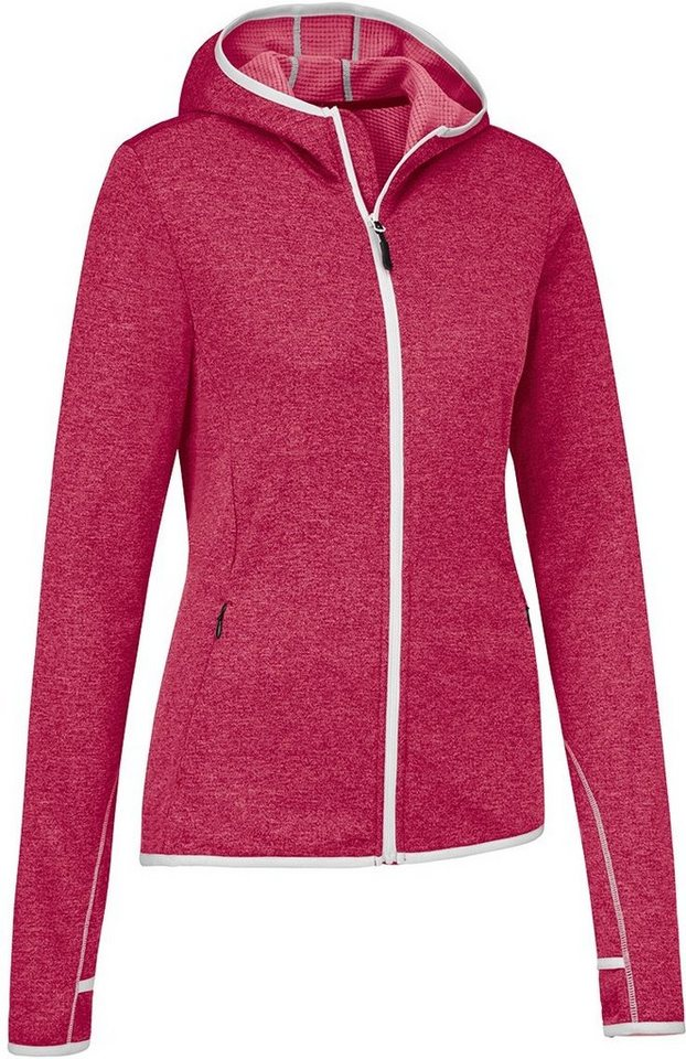 Gonso Pullover »Berry Hoodie Damen« in rot