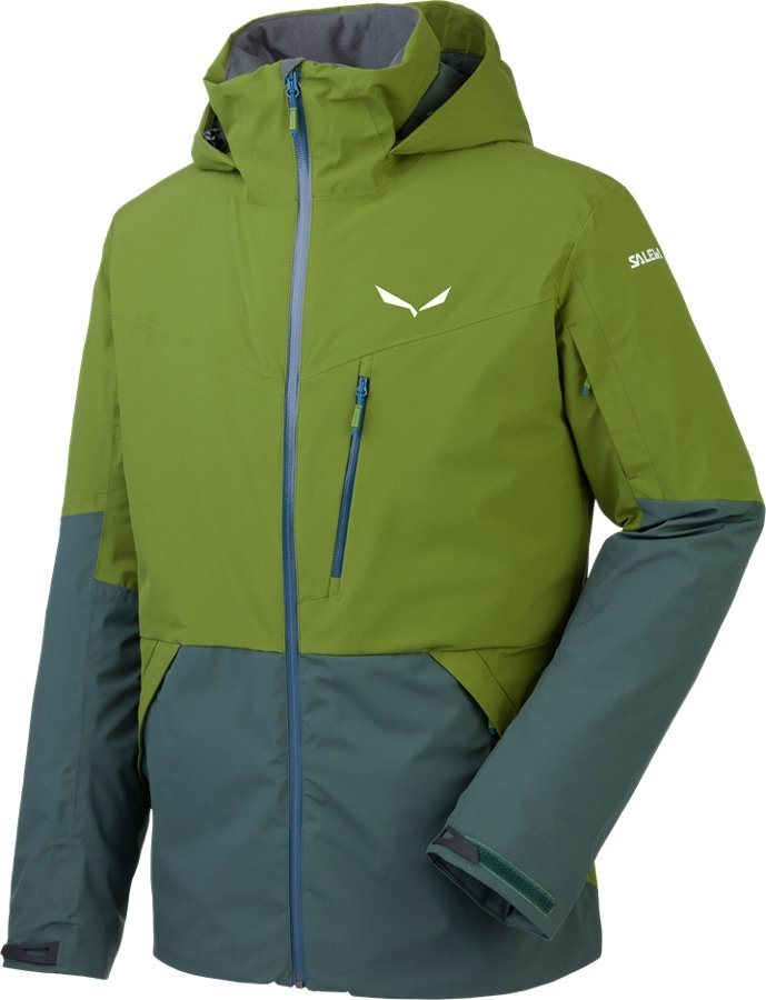 Salewa Outdoorjacke »Antelao Beltovo PTX/PRL Jacket Men« in oliv