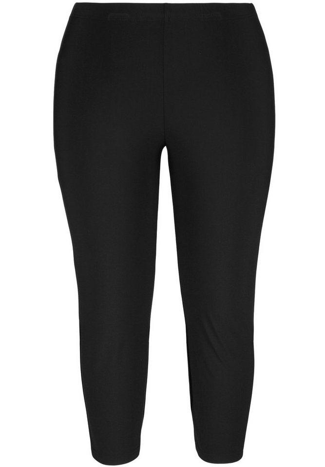Doris Streich Leggings »IN 3/4-LÄNGE« in schwarz