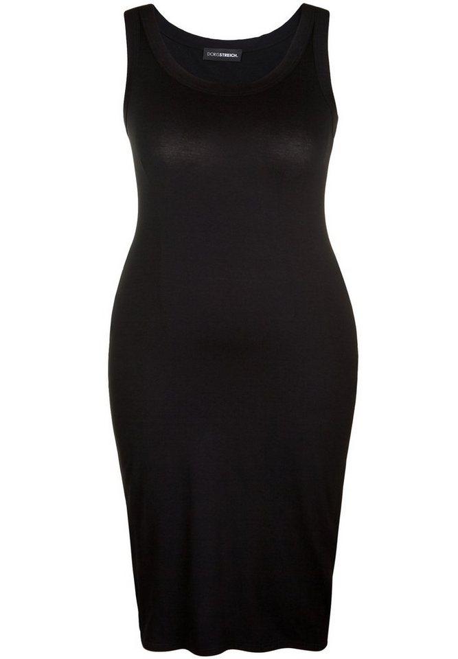 Doris Streich Jerseykleid »UNI ÄRMELLOS« in schwarz