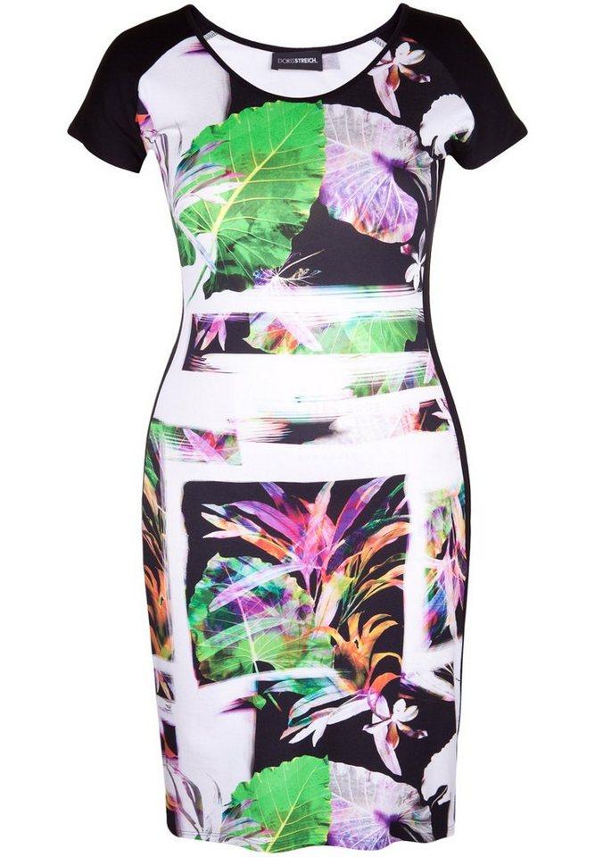Doris Streich Jerseykleid »MIT FLORALEM MUSTER« in multicolor
