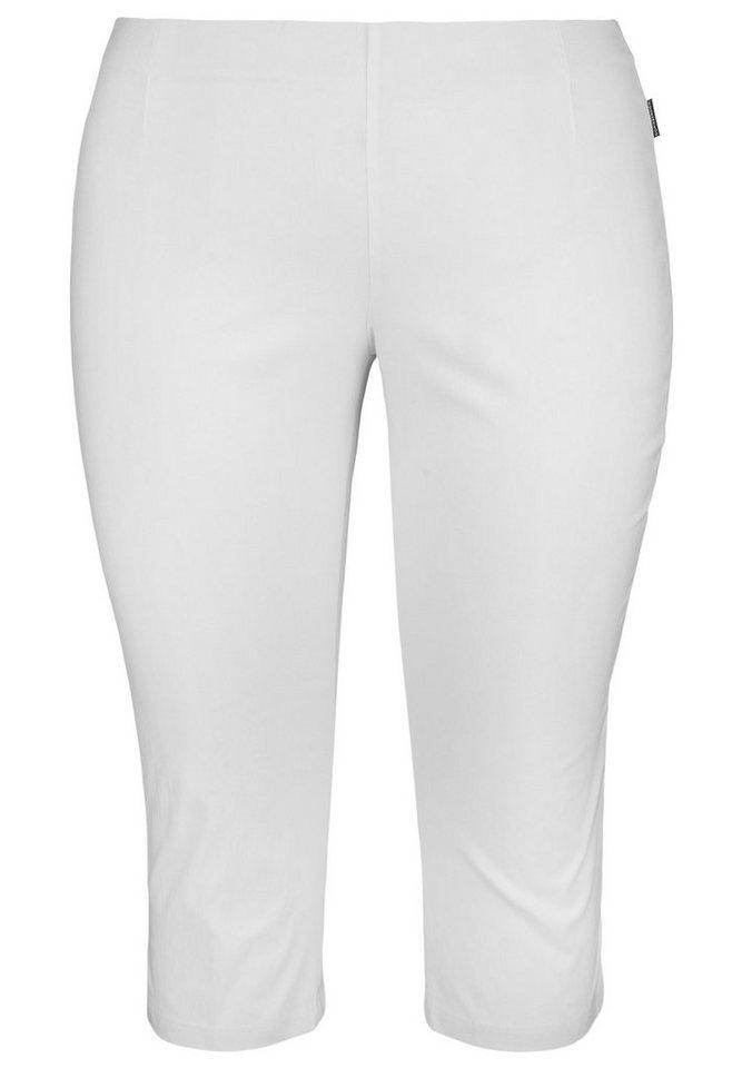 Doris Streich 3/4-Hose »SLIMLINE« in weiß