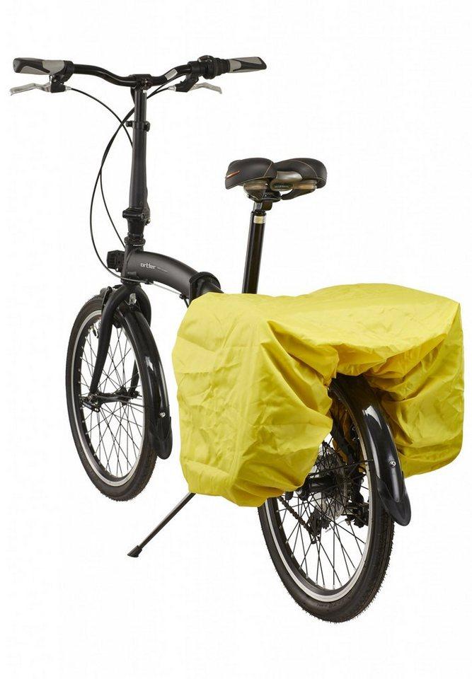 Red Cycling Products Fahrradtasche »Regenschutz für Doppeltaschen gelb«