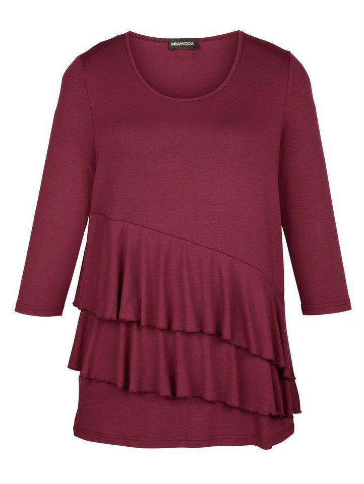 MIAMODA Longshirt in rubin