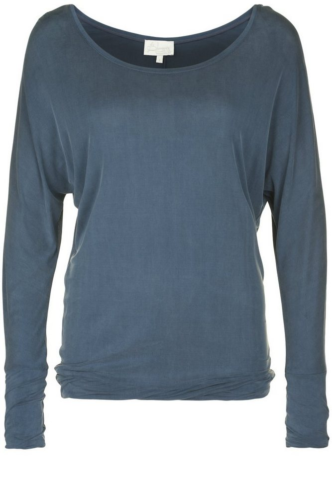 Blaumax Longsleeve »BERKLEY« in ink blue