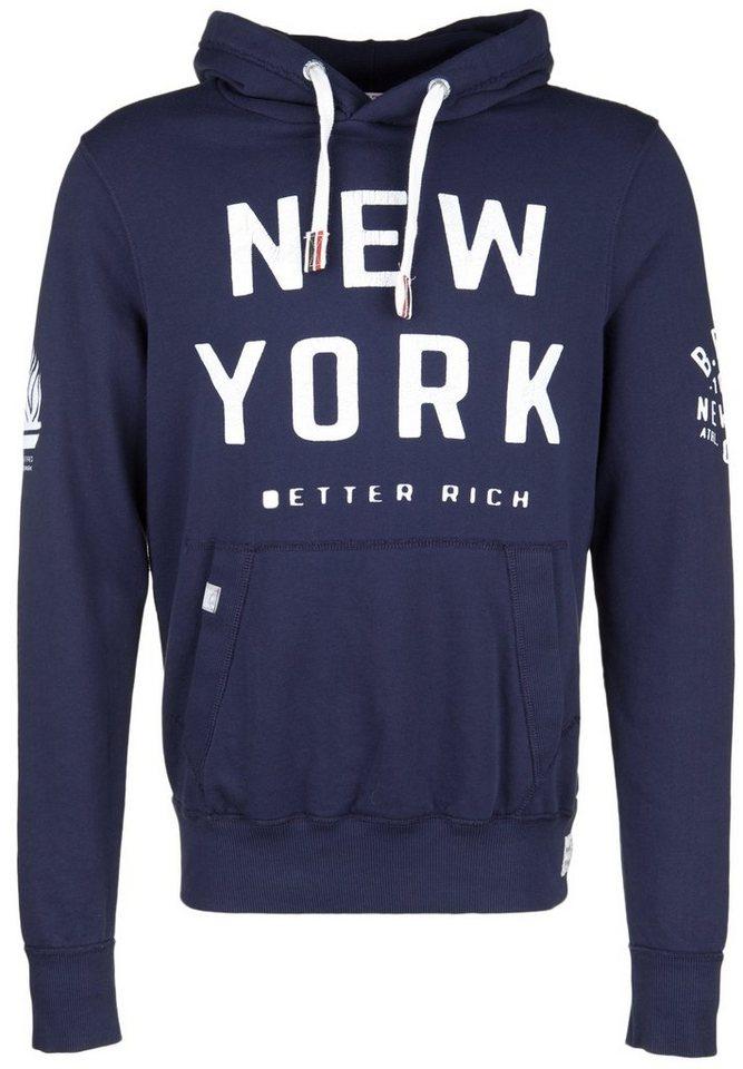 Better Rich Kapuzensweatshirt »NEW YORK« in intensive blue
