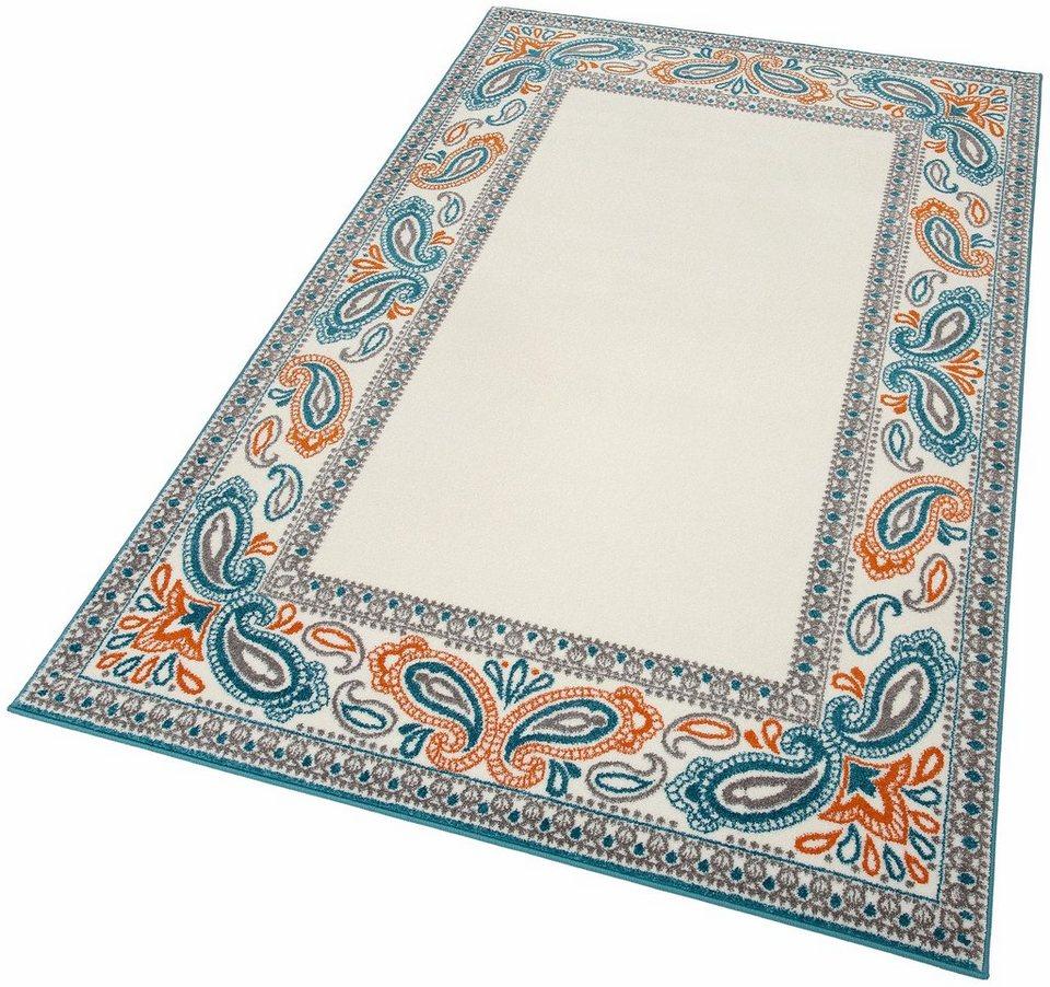 Teppich, my home, »Elsa«, gewebt in türkis