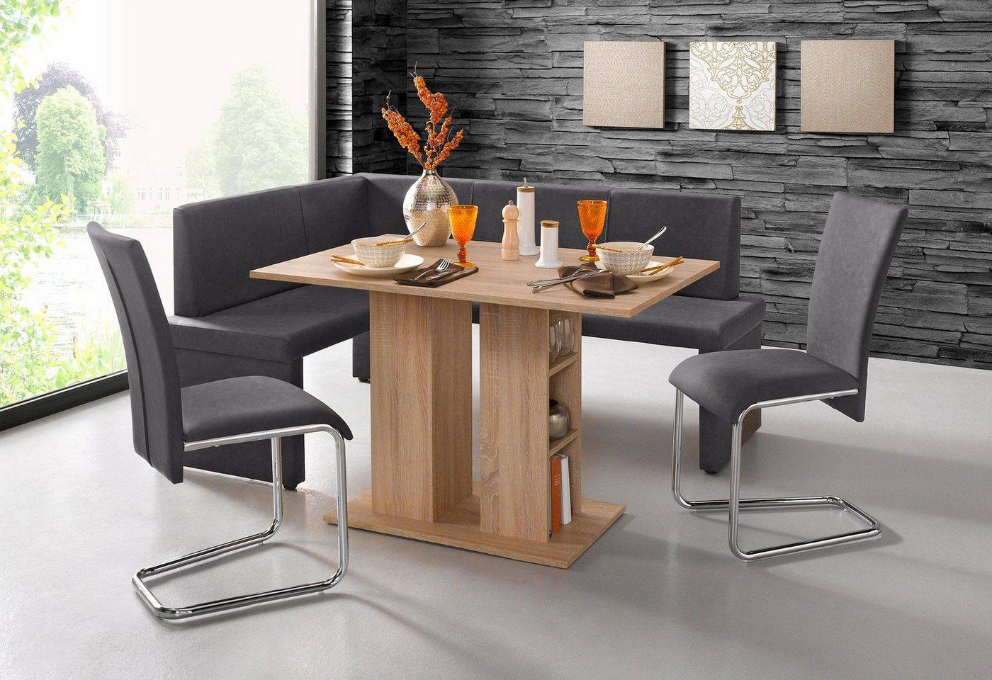 eckbank gepolstert preisvergleiche erfahrungsberichte. Black Bedroom Furniture Sets. Home Design Ideas