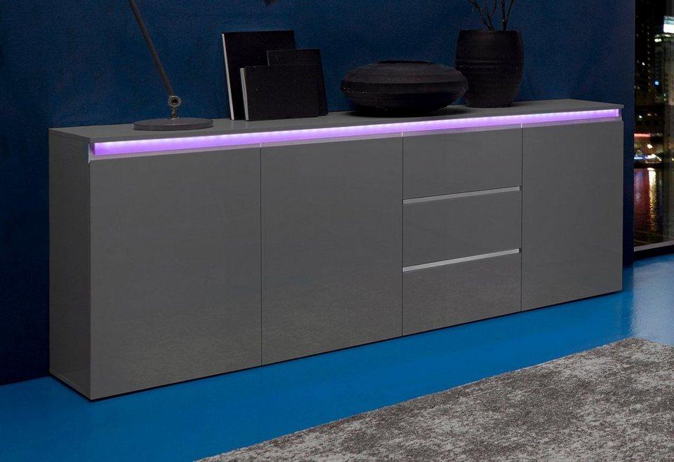 tecnos sideboard breite 200 cm online kaufen otto. Black Bedroom Furniture Sets. Home Design Ideas