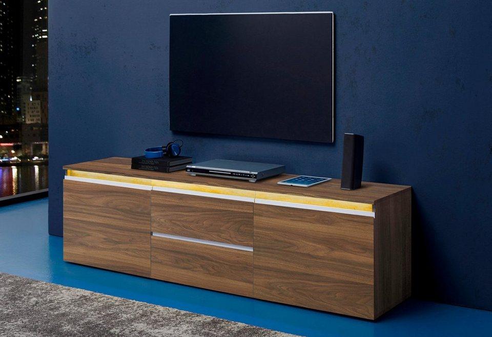 tecnos lowboard breite 180 cm 2 t ren online kaufen otto. Black Bedroom Furniture Sets. Home Design Ideas